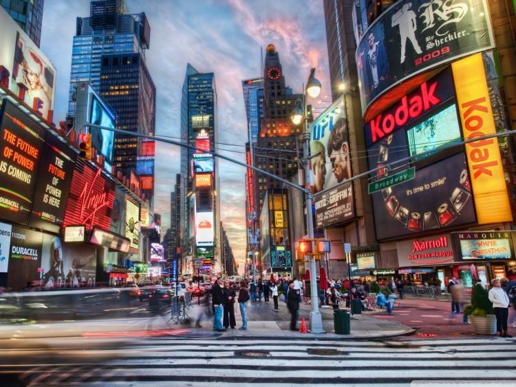 The street aesthetic of New York